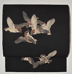 群雀の昼夜帯