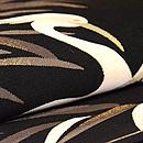 鷺の綴れ袋帯 質感・風合