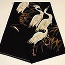鷺の綴れ袋帯 帯裏