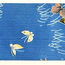 江戸縮緬菊の染帯 前中心