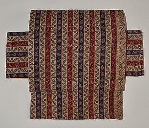 カシミール織付帯
