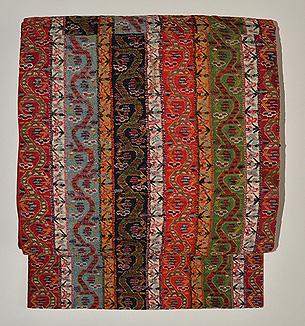 イラン製刺繍名古屋帯