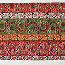 イラン製刺繍名古屋帯 前中心