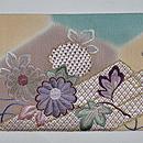 花筏刺繍名古屋帯 前中心