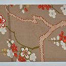 梅の図名古屋帯 前中心