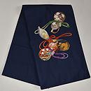 綴に六つ瓢箪の刺繍帯 帯吉製作 帯裏