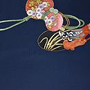 綴に六つ瓢箪の刺繍帯 帯吉製作 前中心