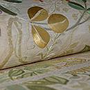 夏の花丸文刺繍袋帯 質感・風合