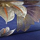 鉄線の刺繍名古屋帯 質感・風合