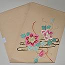 鉄線の花刺繍絽名古屋帯 帯裏