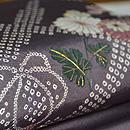 菊刺繍名古屋帯  質感・風合