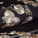 花丸紋刺繍名古屋帯 質感・風合
