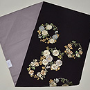 花丸紋刺繍名古屋帯 帯裏