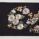 花丸紋刺繍名古屋帯 前中心