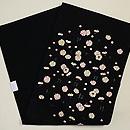 梅小花の刺繍名古屋帯  帯裏
