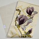紫木蓮刺繍名古屋帯  帯裏