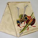 兜の刺繍袋帯  帯裏