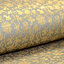 笹蔓金襴手丸帯  質感・風合