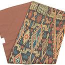 カリマンタン島縞絣布の名古屋帯 帯裏