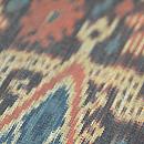 カリマンタン島縞絣布の名古屋帯 質感・風合