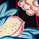 フルーツの染め名古屋帯 質感・風合