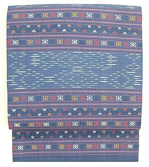 ラオス絹紋織名古屋帯