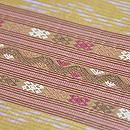 ラオス絹紋織名古屋帯 質感・風合