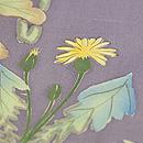 四季の花々染名古屋帯 その2 質感・風合