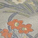 水仙づくし織り名古屋帯 質感・風合
