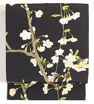 吉野桜の図染名古屋帯