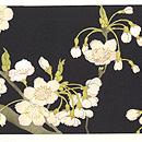 吉野桜の図染名古屋帯 前中心