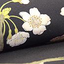 吉野桜の図染名古屋帯 質感・風合
