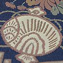 源氏香、菊唐草に金嚢唐織の丸帯 質感・風合