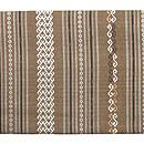 ラオス紋織りの名古屋帯 前中心