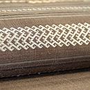 ラオス紋織りの名古屋帯 質感・風合