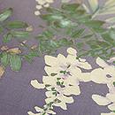 四季の花々染名古屋帯 その1 質感・風合