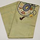 古鏡の図刺繍丸帯 帯裏