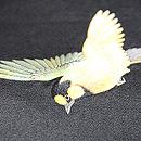 梅枝に小鳥刺繍帯 小鳥の刺繍