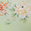 満開春の花の図名古屋帯 前中心