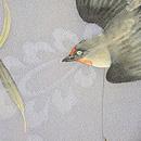 枝垂れ柳に燕の図名古屋帯 質感・風合