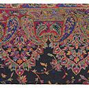 カシミールジャガード織名古屋帯 前中心
