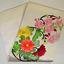 花の丸文刺繍名古屋帯 帯裏