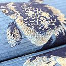 金魚の図織り名古屋帯 質感・風合