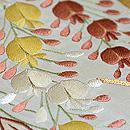 枝垂藤刺繍名古屋帯 質感・風合