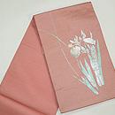 燕子花刺繍絽袋帯 帯裏