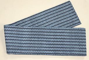 琉球紬半巾帯