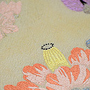 春の花纐纈(こうけち)絞り名古屋帯 質感・風合
