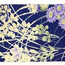 秋草の図絽名古屋帯 前中心