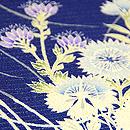 秋草の図絽名古屋帯 質感・風合