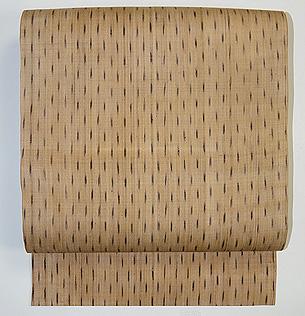 雨絣芭蕉布の名古屋帯